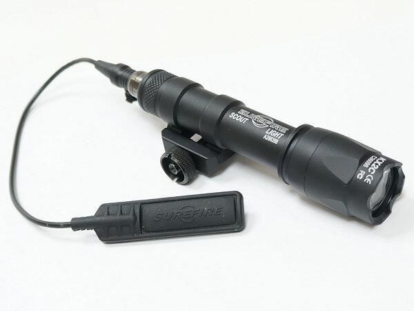 【SUREFIREタイプ】M600CスカウトライトLED (リモート&プッシュスイッチ付)【BOX】