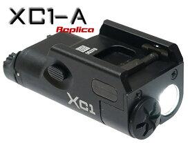 【ハンドガンライト】 SUREFIREタイプ XC1-A ULTRA コンパクト LED フラッシュライト   サバゲー ピストルライト タクティカル アンダーレイル ハンドガンレイル 単4電池 ウェポンライト 室内戦 夜戦 GLOCK G19 G18C G17 USP M&P HK45 M9A1 XDM エアガン エアーガン