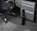 シリンダーファンブラックH40007コンパクトスリムおしゃれどこでも