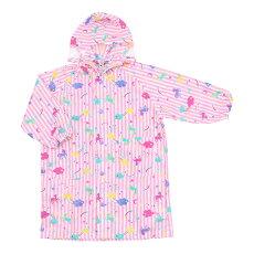 レインコートキッズランドセル対応子供用ユニコーン柄100cm110cm120cmカッパ子供女の子(ジュニアグッズ小学生子供用女児幼児コートレイングッズ雨の日雨がっぱ雨カッパレインウェアオレンジボンボン雨の日対策梅雨雨具)
