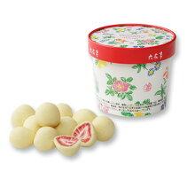 六花亭ストロベリーチョコホワイトパッケージ