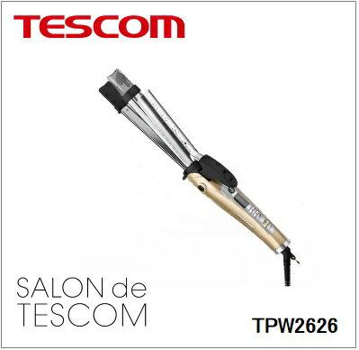 TESCOM(テスコム)【TPW2626-N】マイナスイオン2WAYスチームヘアーアイロン