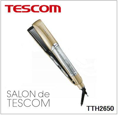 TESCOM(テスコム)【TTH2650-N】マイナスイオンスチームヘアーアイロン