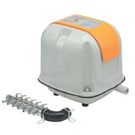 安永 エアーポンプ AP−40(12方分岐装置付き) 安永エアポンプ 浄化槽 ブロワー 【水槽】