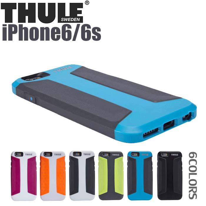 THULE(スーリー) 公式ライセンス品 iPhone6s iPhone6 背面 ケース アイフォン6 アイフォン6s アウトドア 車 スポーツ バイク 自転車 スウェーデン 北欧 アウトドア スノボ スキーアウトドア スノボ スキー ブランド アイフォン アイフォンカバー 送料無料 あす楽対応