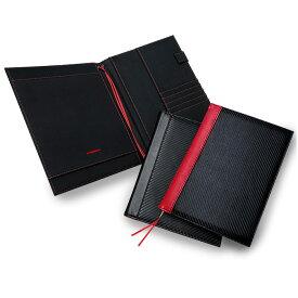 GT-MOBILE ノートファイル B5サイズ マルチノートカバー ノートポケット ノートパッド カードポケット付 カスタマイズ可能 ブラック メンズ 大人 ビジネス