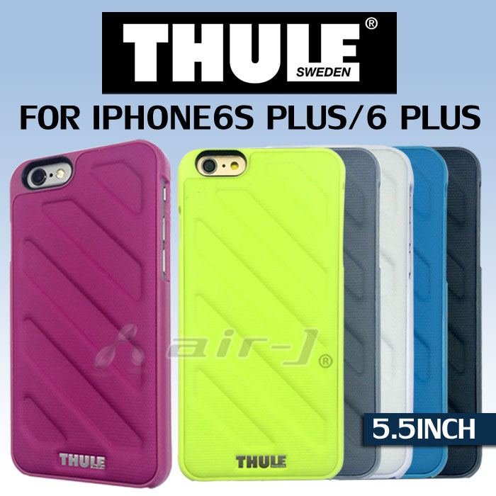 THULE (スーリー) 公式 ライセンス品 iPhone6s Plus / iPhone6 Plus 背面 ケース アイフォン6プラス アイフォン6sプラス あす楽 アウトドア 車 スポーツ バイク 自転車 スウェーデン 北欧 アウトドア スノボ スキー シンプル ブランド 送料無料 あす楽対応