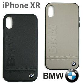 1dfb7453af BMW・公式ライセンス品 iPhoneXRケース アイフォンXRケース アイフォンXR iPhoneケース 本革 ハードケース ビーエム バックカバー  リアルレザー カーブランド 車 ...