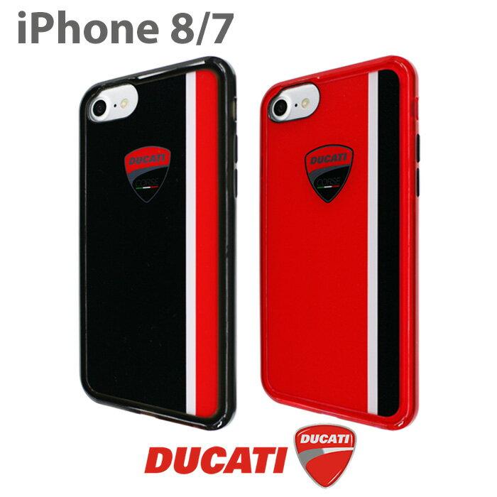 DUCATI 公式ライセンス品 iPhone8 iPhone7 ハードケース【 アイフォン8 アイフォン7ケース シンプル ブランド ロゴ ドゥカティ バイク アイフォンカバー アイフォンケース メンズ ギフト かっこいい ラメ プレゼント】 【送料無料】