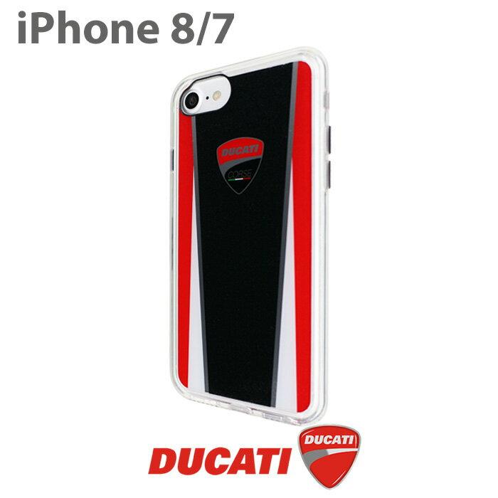 DUCATI 公式ライセンス品 iPhone8 iPhone7 ハードケース【 アイフォン8 アイフォン7ケース シンプル ブランド ロゴ ドゥカティ バイク アイフォンカバー アイフォンケース メンズ かっこいい ラメ ギフト プレゼント】 【送料無料】