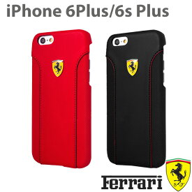 【SALE】フェラーリ・公式ライセンス品 iPhone 6 plus iPhone6sPlus ケース ハードケース フィオラノ アイフォン 6sプラス 6プラスケース iPhoneケース ソフトレザー バックカバー メンズ 男性 ビジネス シンプル ブランド [Fiorano] 5.5inch