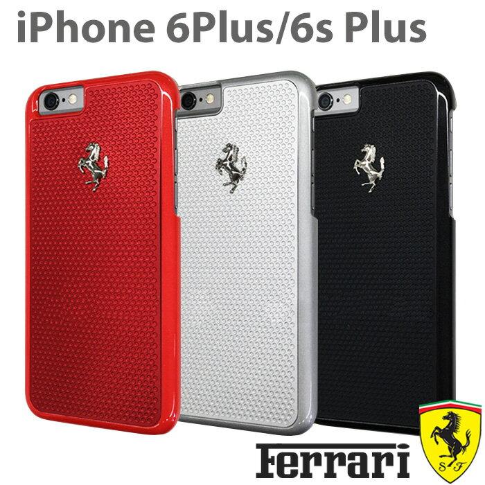 フェラーリ・公式ライセンス品 iPhone 6 plus iPhone6sPlus ケース ハードケース アルミ アイフォン 6sプラス 6プラスケース iPhoneケース バックカバー ジャケット メンズ 男性 ビジネス シンプル iPhone6sPlusケース ブランド 【送料無料】5.5inch 6/6s専用