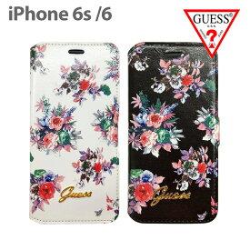 8fb30f7a87 【SALE】GUESS・公式ライセンス品 iPhone6s iPhone6ケース 手帳型 【花柄が大人可愛い アイフォン6ケース 春 ブックタイプ  レディース ブランド フラワー iPhone6s ...