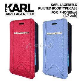 e79c17abbc KARL・公式ライセンス品 iPhone6 6sケース 手帳型 /アクセントカラーに使えるアイフォン6ケース ブックタイプ PUレザー レディース  ブランド シンプル iPhone6ケース ...