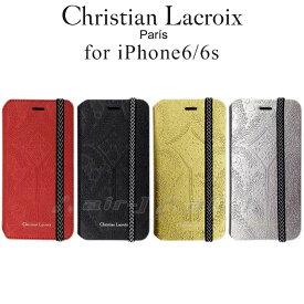 4f318f5f25 【SALE】Christian Lacroix(クリスチャン・ラクロワ)公式ライセンス品 iphone6s iPhone6 (4.7 inch) 手帳型  ケース ブックタイプ MOLESKIN リュクス 大人 シック ...