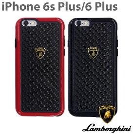 【SALE】ランボルギーニ 公式ライセンス品 iPhone6s plus iPhone6 Plus ハードケース カーボン アイフォン6sプラス アイフォン6プラス バックカバー アイフォン6プラス かっこいい メンズ シンプル ブランド ロゴ ケース