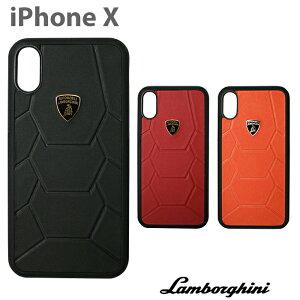ランボルギーニ・公式ライセンス品 iPhoneXSケース アイフォンXS iPhoneXケース アイフォンX iPhoneケース ハードケース 本革 レザー かっこいい メンズ シンプル ビジネス スマホケース 海外 ブラ
