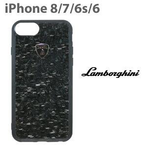 ランボルギーニ・公式ライセンス品 iPhone8 iPhone7 iPhone6s iPhone6 ハードケース 【 アイフォン8 アイフォン7 アイフォン6s/6 ケース スマホケース リアルカーボン バックカバー Lamborghini シンプル