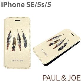 【SALE】iphoneSE iPhone5s iPhone5 ケース 手帳 手帳型(ブックタイプ)PAUL & JOE(ポール アンド ジョー )・公式ライセンス品 鷲 羽根 フェザー ネイティブ フォークロア インディアン ユニセックス ギフト 【PJISEBOOK】アイフォンSE あす楽対応
