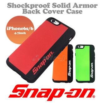 Snap-on (스냅온) 공식 라이센스 iPhone6s iPhone6 전용 후면 케이스 PU 소재 충격 흡수 충격 건장 (스냅온/Snapon/사탕 화재/공구/아이폰 케이스/) 미나미 아키나 アッキーナ 추천