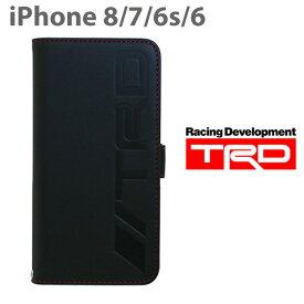 bfa111b800 TRD・公式ライセンス品 iPhone8 7 6Sケース 手帳型 本革が上品なアイフォン8ケース 7ケース ブックタイプ メンズ ブランド ブラック  黒 シンプル カード収納 カード ...