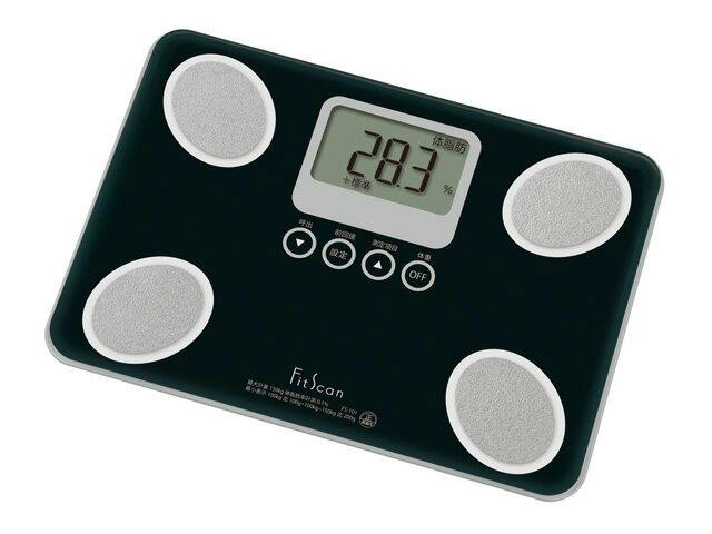 タニタ 体脂肪計 FS-101 BK