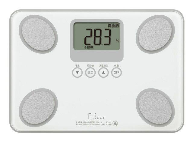 タニタ 体脂肪計 FS-101 WH