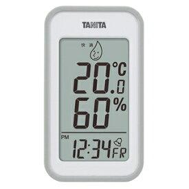 タニタ デジタル温湿度計 TT-559 グレー