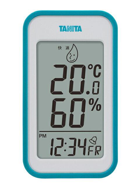 タニタ デジタル温湿度計 TT-559 ブルー