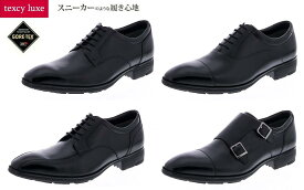 GORE-TEX ゴアテックス 牛革 asics アシックス商事 texcy luxe/テクシーリュクスTU8001/TU8002/TU8003/TU8004 ビジネスシューズ 紳士靴 3E相当 防水