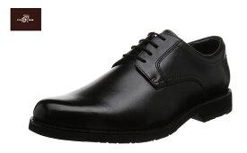 マドラス/madras WG200 ウォーカーゴルフ (ブラック)ソフトトラッド プレーントゥ  軽量 牛革 紐靴 ビジネスシューズ 紳士靴 ウォーキング 3E
