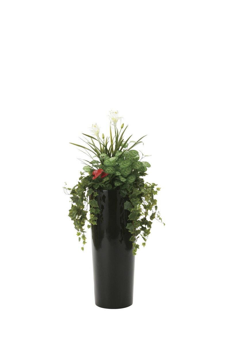 【送料無料】人工観葉植物 光の楽園 寄せ植えユッカ 727A600【造花/フェイク/リビング/玄関/アートフラワー/インテリアグリーン】