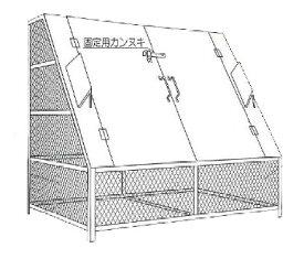 【完成品 送料無料】ゴミステーション ゴミBOX N-150 ステンレス製SUS304【生ゴミ収納BOX ワンニャンカア 大型ゴミ箱 業務用 屋外 大容量 アパート マンション 町内会 自治会 カラス 猫 対策 ごみ ゴミストッカー】