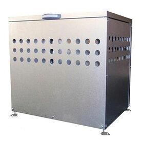 ゴミ箱 屋外 ごみ箱 ダストボックス ふた付き 大容量200L DST-700【おしゃれ 大型 ゴミストッカー ダストストッカー 一時保管 錆びに強い】