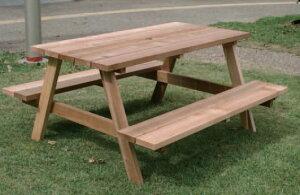 ウッドベンチ/木製ベンチ テーブルベンチ【業務用ウッドベンチ 業務用木製ベンチ 屋外用木製ベンチ 屋内用木製ベンチ 屋外・屋内兼用木製ベンチ 屋外用ウッドベンチ 屋内用ウッドベンチ