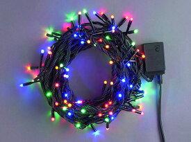 LEDライト50球(コントローラー点滅)4色ミックス LWK50MIX スタンダード【コロナ産業 イルミネーション 電飾 LED ライト】