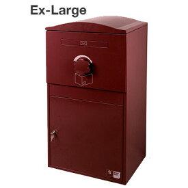 9/19-9/24 1:59 ポイント10倍/宅配ボックス Brizebox Ex-Large(ブライズボックス EXラージ)【鍵付き 宅配ポスト スチール製 屋外 戸建 荷物受取 複数受け取り対応 おしゃれ かわいい】