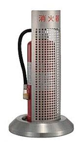 消火器ボックス フロアータイプ PFT-03S-P【消火器スタンド カバー 屋内 オフィス 施設 おしゃれ】