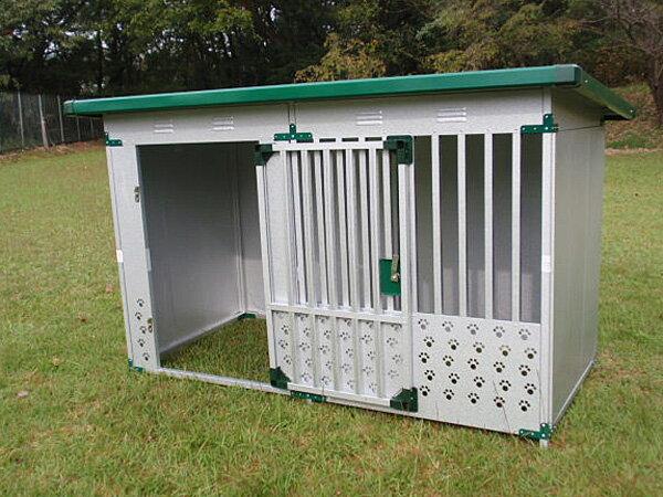 ペット用品 ドッグハウス DFD-1 床なしタイプ(0.5坪タイプ屋外用犬小屋)【小型犬 中型犬 大型犬 犬小屋 】