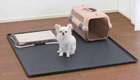 木製スクエアペットルーム専用 アンダートレー 120-120【ペット用品 サークル ケージ 超小型犬 小型犬 室内 屋内】