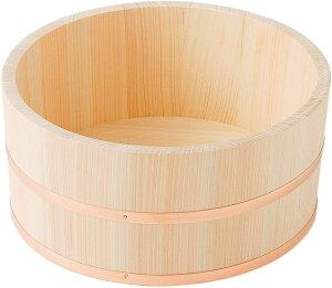 桧 湯桶 直径21cm【風呂桶】