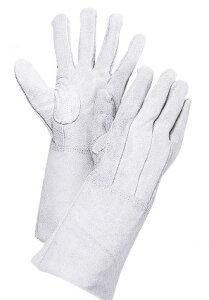 大中産業 溶接用革手袋 床熔接 5本指 50T 牛床革 皮手袋 10双 フリー(L)サイズ *代金引換不可商品