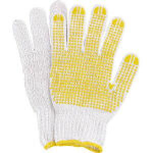 丸和ケミカル すべり止軍手12双組 308-5929 312 作業用手袋