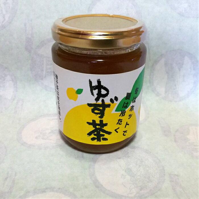 ゆず茶(ビン)【四国 高知 南国 土佐 お土産 お取り寄せ 柚子 ゆず ドリンク ティータイム シロップ オススメ】