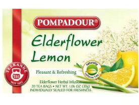 (ポンパドール)ハーブティーエルダーフラワーレモン 1.5g×20ティーバッグ「あす楽対応」