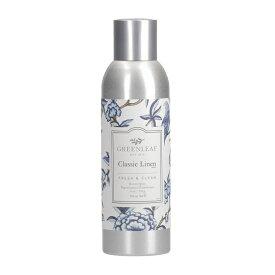 (グリーンリーフ) GREENLEAFルームスプレイ(Room Spray)198mlクラシックリネン(CLASSIC LINEN)  グリーンリーフ社フローラル系とバルサミック系のフレッシュな香りをブレンド
