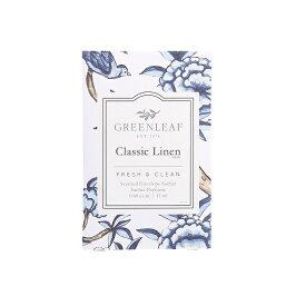 (グリーンリーフ) GREENLEAFフレッシュセンツ(FRESHSCENTS) Sサイズ 11mlクラシックリネン(CLASSIC LINEN)  グリーンリーフ社フローラル系とバルサミック系のフレッシュな香りをブレンド