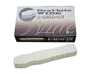 オーラルバイト (2)-ワイド 5ケ入 介護用品 開口パッド 開口器 口腔ケア 噛まれ防止