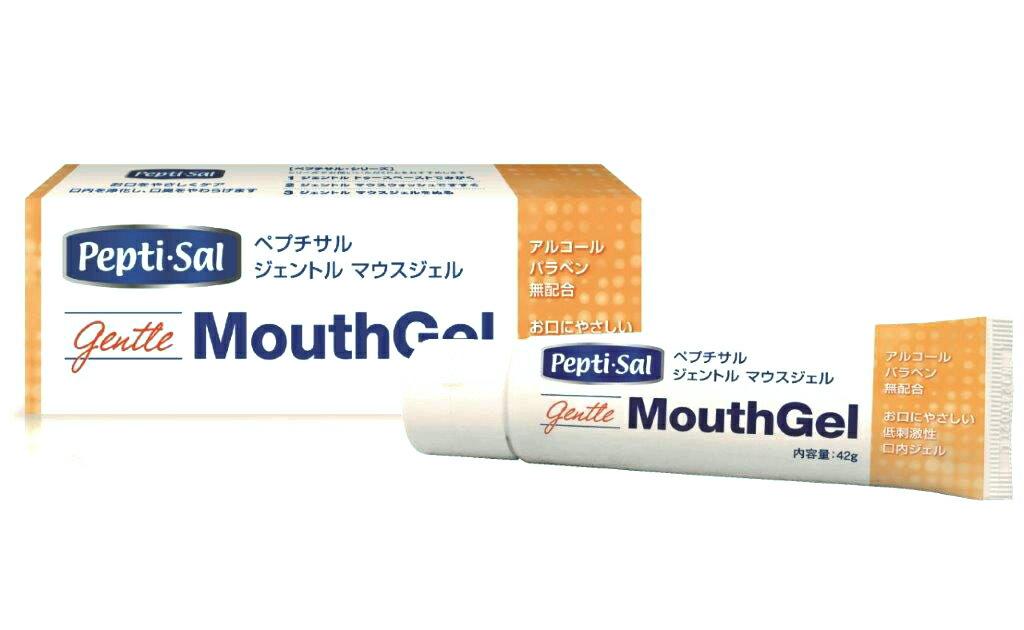 ペプチサルジェントル バランスジェル 42g 介護用品 湿潤ジェル 歯ブラシ 口腔ケア 歯磨き 口臭 保湿用