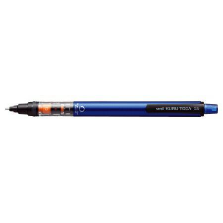 三菱鉛筆 シャープ 0.5mm クルトガ パイプスライドモデル ブルー M54521P.33